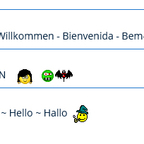 Xeno3 Smiley Gruppe - Chattergallery
