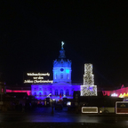 Christmas market Charlottenburg Palace in Berlin 2017