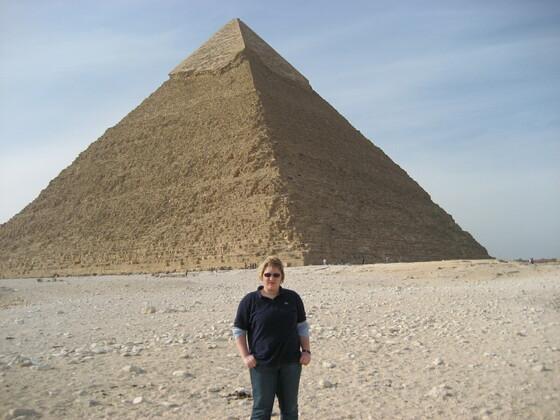 Lilli in Gizeh Ägypten