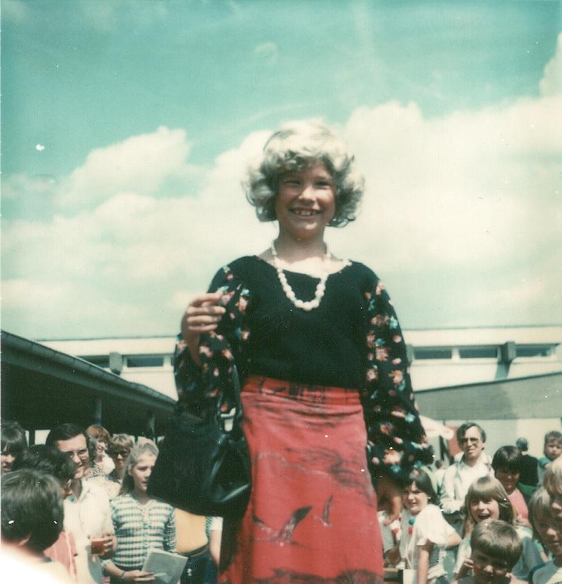 Schulfest 1980 - Grundschule Nauheim (Kreis Groß-Gerau/Hessen)