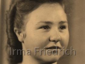 Irma Lämmersdorf 1940