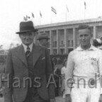 Olympia 1936 Hans_Arendt mit Vater