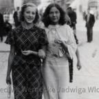 Juli in Kalisz - Jadwiga Wloch mit Schwester oder Freundin