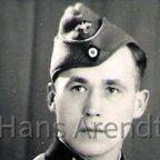 Wehrmachtssoldat - Junker Hans Arendt