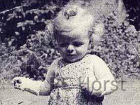 Horst Firch als Baby - 1946