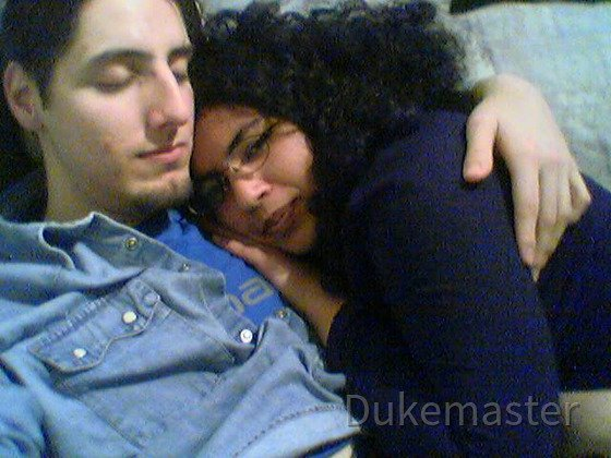 Darky with boyfriend