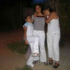 Adriana Muñoz with Mother and Sister