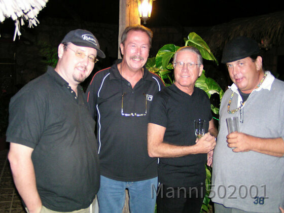 Musiker in Teneriffa mit  Manni